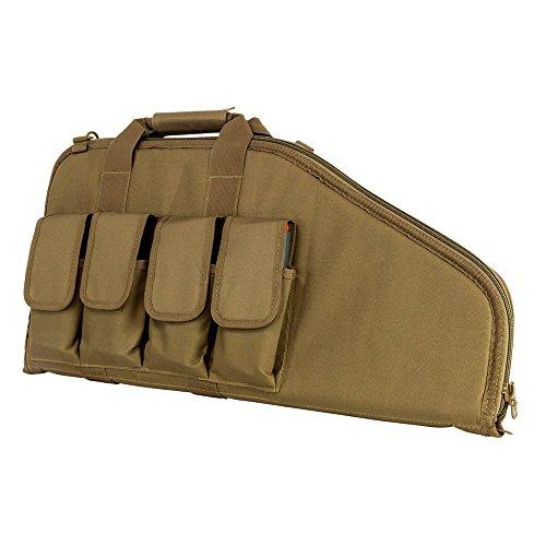 NcSTAR VISM 2907 Pistol Subgun Gun Case, Tan, 28