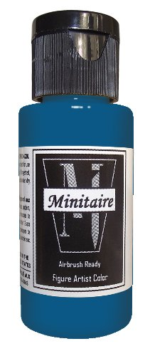 (Badger Air-Brush Company 2-Ounce Bottle Miniature Airbrush Ready Water Based Acrylic Paint, Ghost Tint Midnight Blue)