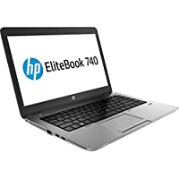 HP Laptop EliteBook 740 G1 Intel Core i3 4030U (1.90GHz) 8GB Memory 500GB HDD Intel HD Graphics 4400 14.0 Windows 7 Professional 64 with Windows 8.1 Pro License