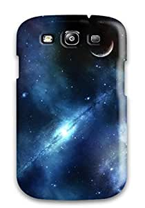Durable Case For The Galaxy S3- Eco-friendly Retail Packaging(space Art )