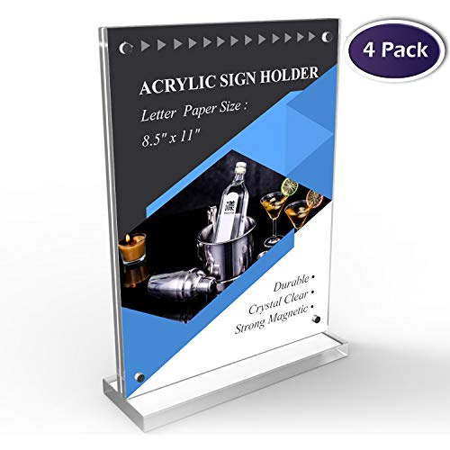 Acrylic Sign Holder 11