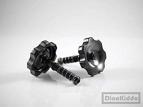 Titanium Black Easy Shell Hinge Clamps Lever for Brompton Folding Bike - Dino Kiddo