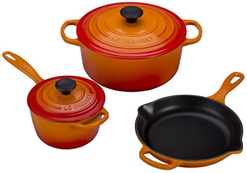 le creuset cookware flame - 4
