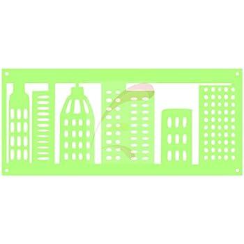 amazon com superhero city skyline gotham cookie stencil cake