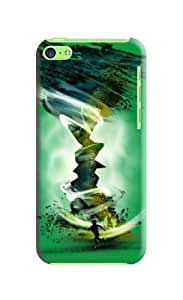 Fashion Dreamy The Heavy Storm Green Protector Hard Case Cover For Iphone 5c