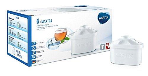 Brita Maxtra Unstintingly Filter Cartridges Pack of 6