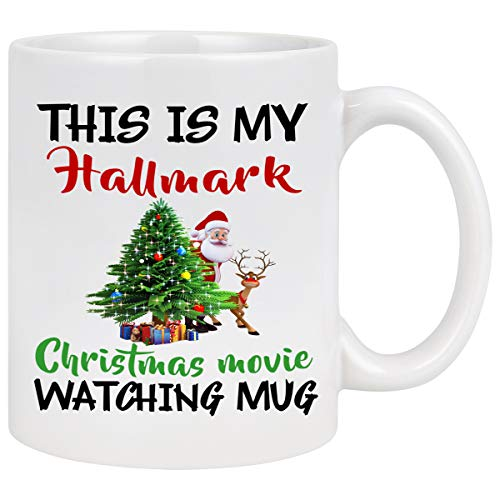 Christmas Coffee Mug This Is My Hallmark Christmas...