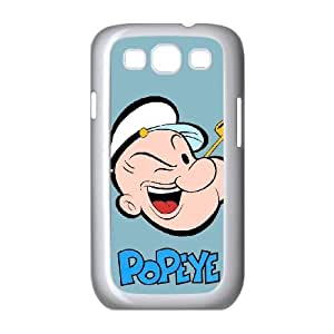 Samsung Galaxy S3 9300 Cell Phone Case White Popeye the sailor jnju