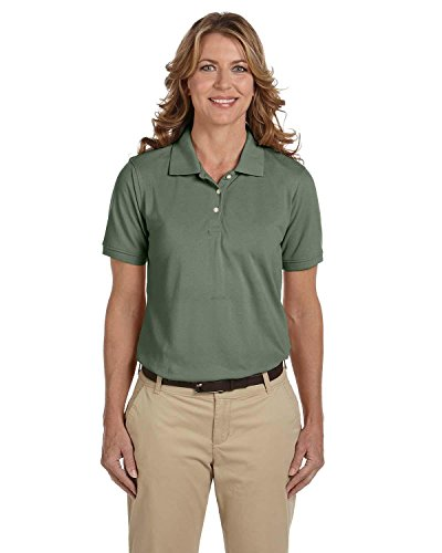 Harriton Ladies' 5 oz. Easy Blend Polo>XL DILL M265W