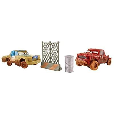 Disney Pixar Cars 3: Crazy 8 Crashers Jimbo & T-bone Vehicle 2-Pack: Toys & Games