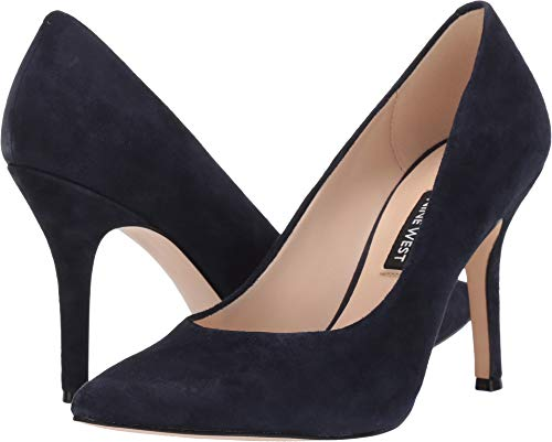 Nine West Womens Flax Pump French Navy 9 M
