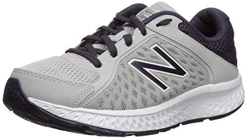 New Balance Women' s 420v4 Cushioning Running Shoe, rain Cloud/Elderberry/White, 7 W US