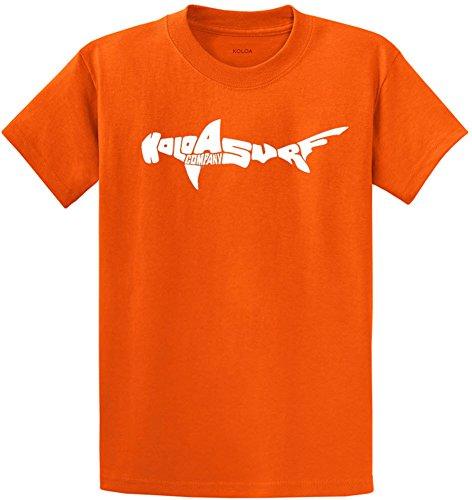 Koloa Surf Co.(tm) Hammerhead Shark T-Shirts in Size Youth X-Large Orange ()