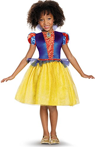 Snow White Classic Disney Princess Snow White Costume, Medium/7-8 ()