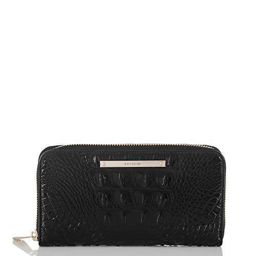 Brahmin Suri Wallet, Black, One Size (Melbourne Home Stores)