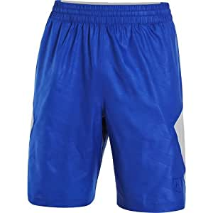 Under Armour 1242247 Cage the Game Spine Short - Royal Blue/Grey M