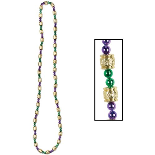 Mardi Gras Beads - Mosaic Party Accessory (1 count) (1/Card)