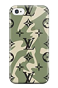 New Style louis vuitton logo Brands LOGO Cute iPhone 4/4s cases 6ISV35XPMANB6SEL