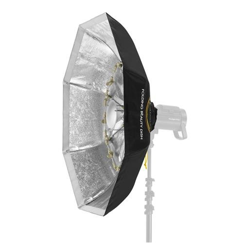 Glow Foldable Beauty Dish with Bowens Mount (Silver, 40'')