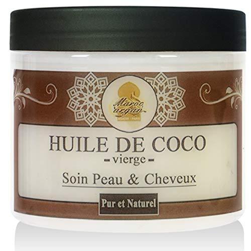 Aceite de Coco Puro y Natural - El cuidado del Cabello, Cara y Cuerpo - 200ml Maroc Argan