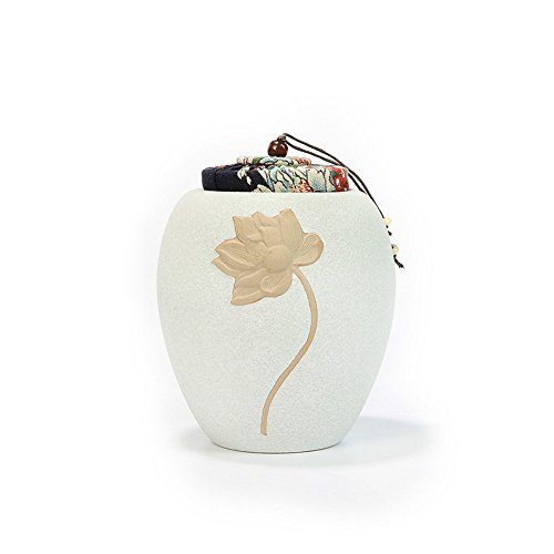 Last Gift Memorials-Memorial Pet Loss Urn for Your Dog, Cat, Bird,Ferret,or Small Animal(Size:3.7In3.7In5.7In,40 Cubi)