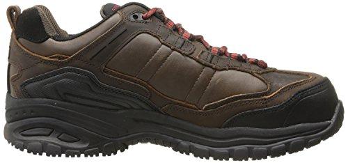 De Us Foncé Brun Skechers Hommes Chaussure 7 Ii Travail Constructor qpp6w81
