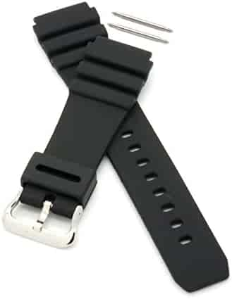 PERFIT 22mm Casio Replacement Watch Band + Spring Rods for 10406454 AMW-320 AMW-330 MDV-106 MTD-106 MTD-1066