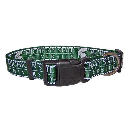Pet Goods NCAA Michigan State Spartans Dog Collar, Large