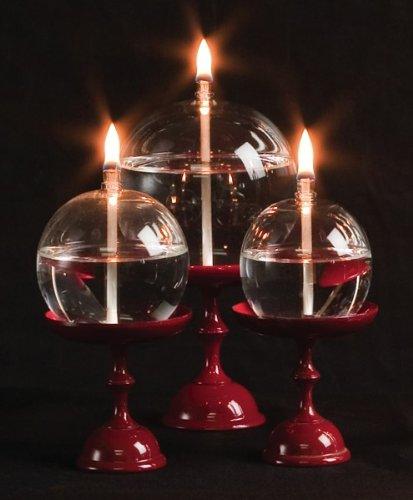 Handblown Glass Orb Oil Lamp | Ziji (3