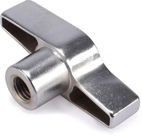 Riggatec Flü gelmutter Silber M12 Gewinde