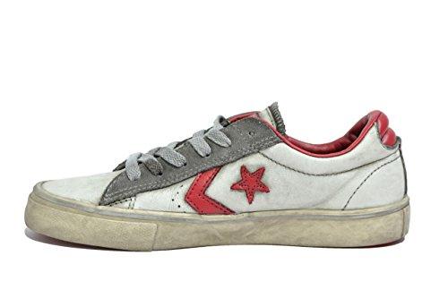 Converse Pro Leather Vulc bianco scarpe donna ragazzo limited edition 156933C 40½