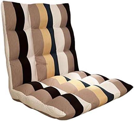 ビーズクッション ゆったりとした折りたたみソファ調節可能なフロアチェアフロアチェアソファベッドベッド快適なバックコンピュータチェア - 取り外し可能と洗える BRFDC (Size : 105x52x10cm)