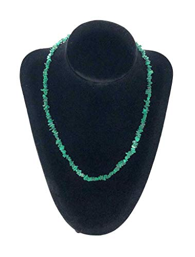 [New Product Launch Discount] Handmade Green Natural Malachite Crystal Necklace