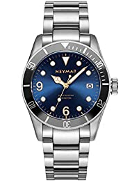 41.5mm Men's Automatic Watch Diving Watch 300m Stainless Steel Watch