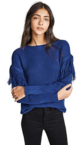 Ramy Brook Women's Erin Sweater, Spring Navy, Blue, Large