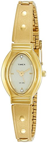 Timex Classics Analog Gold Dial Women #39;s Watch   JW12