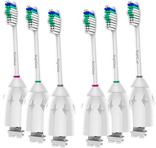 BrightDeal Replacement Toothbrush Heads Compatible with Philips Sonicare Toothbrush Electric Handle, for Sonicare E…