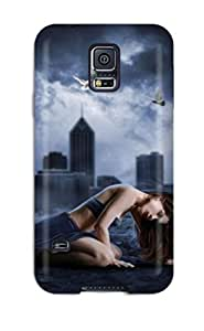 New WahCizQ4368XZqxU Lost In The Darkness Skin Case Cover Shatterproof Case For Galaxy S5