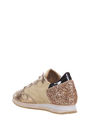 Philippe Model , Baskets pour femme or or