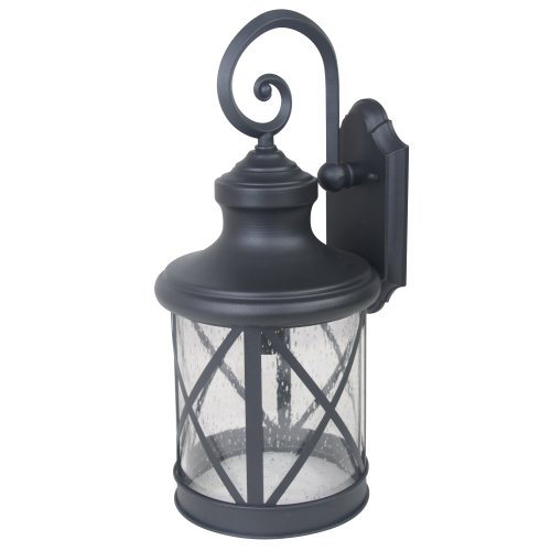 Cheap Yosemite Home Décor 5041BL-L Mahony Collection 10-Inch Incandescent Exterior, Black