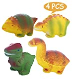 AOLIGE 4PCs Squishies Slow Rising Jumbo Kawaii Cute Dinosaur Creamy Scent Kids Party Toys Stress Reliever Toy