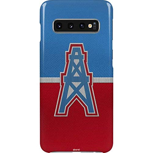 Skinit Houston Oilers Vintage Galaxy S10 Lite Case - Officially Licensed NFL Phone Case Lite - Ultra-Thin, Lightweight Galaxy S10 Cover
