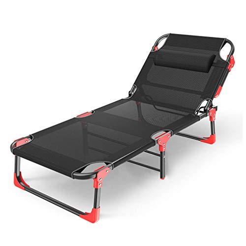 - SACKDERTY Sun Lounger Foldable Sunbed Adjustable Backrest Deck Chair Portable Recliner Chair Outdoor Garden Furniture