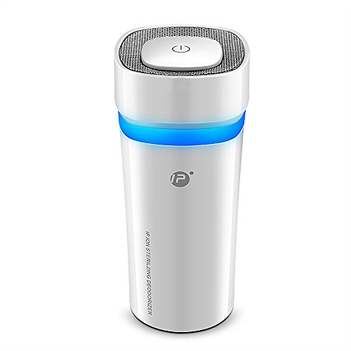 NWK Ozone Generator Car Air Freshener Deodorizer Odor Eliminator Air Purifier, Rechargeable and Portable