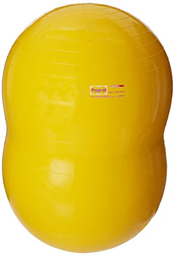 Cheap Gymnic 22 in Physio-Roll Ball, Yellow