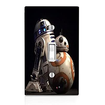 Demon Decal Popular Droid Robots Light Switch Plate: Home & Kitchen