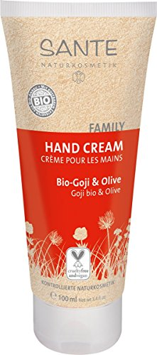 Sante Naturkosmetik Handcreme Bio-Goje und olive 100ml, 1er Pack (1 x 100 ml)