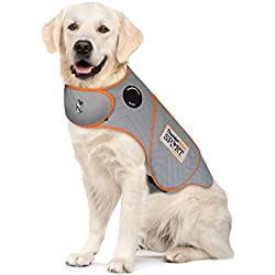 Thundershirt Sport Dog Anxiety Jacket, Platinum, X-Large