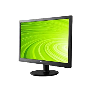 AOC e2460Sd 24-Inch Widescreen LED-Lit Monitor, Full HD 1080p, 5ms, 20M:1 DCR, VGA/DVI, VESA