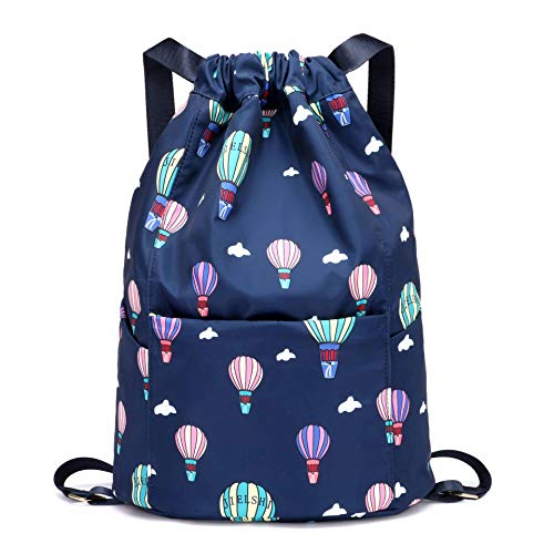 fc95f076aa45 Urmiss Nylon Folding Dry and Wet Separation Backpack Beach Swimming Fitness  Yoga Bag Gym Sack Bag Drawstring Backpack Sport Bag String Sackpack for  Girls   ...